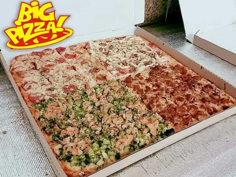 Pizza Quadrada Gigante